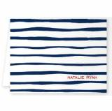 Boatman Geller Personalized Brush Stripe Note