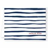 Boatman Geller Personalized Brush Stripe Note