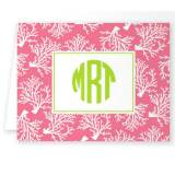 Boatman Geller Personalized Coral Note