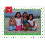 Personalized Dottie Multi Flat Photocard