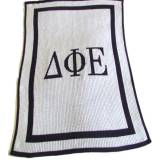 Sorority Customized Knit Blanket By  . . .