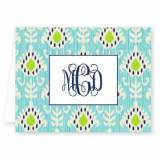 Boatman Geller Personalized Mia Ikat Note