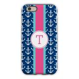 Personalized IPhone Case Anchors Ribbon