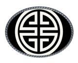 Loopty Loo Athena Black And White Belt Buckle