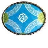 Loopty Loo Crown In Turquoise Belt Buckle