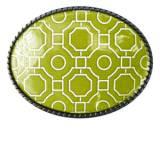 Loopty Loo Garden Maze In Citron Belt Buckle