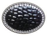 Loopty Loo Swarovski Crystal Embossed Belt  . . .