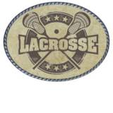 Loopty Loo Vintage Lacrosse Belt Buckle