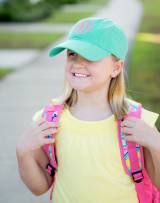 Personalized Child's Mint Green Ball Cap
