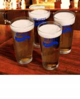 Personalized Sports Bar Pub Glasses