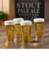 Personalized Glass Set Premium Brew Pub