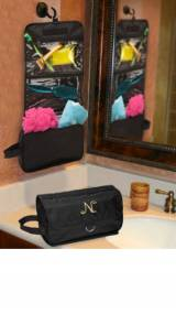 Personalized Hanging Toiletry Bag Jet  . . .