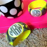 Flo-Hida Monogrammed Hand Painted Bangle  . . .