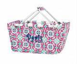 ON SALE! Monogrammed Mia Tile Market Tote