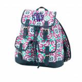 ON SALE! Monogrammed Mia Tile Campus Backpack
