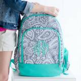 Personalized Parker Paisley Backpack