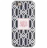 Personalized Phone Case Arden Charcoal