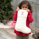 Monogrammed Classic Holiday Stocking In  . . .