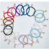 Zoe Single Strand Beaded Bracelet