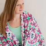 ON SALE! Personalized Mia Tile Throw Blanket