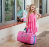 Personalized Polka Dot Dottie Duffel Bag
