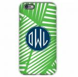 Monogrammed IPhone Case Palms