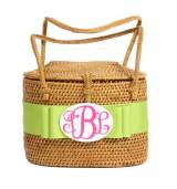 Monogrammed High Baby Bali Bag