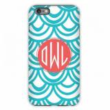 Personalized IPhone Case Seashell Pattern