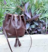 Jon Hart Personalized Leather Kenedy Tote Bag