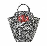 Monogrammed Leaf A Message EVA Laundry Tote