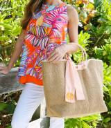 Monogrammed Cape Code Market Tote With  . . .