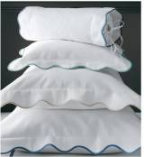 Matouk La Scallop King Sham No Monogram
