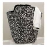 Monogrammed EVA Point Blank Black Laundry  . . .