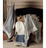 Matouk Suri Alpaca Throw Blanket With 6  . . .