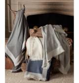 Matouk Suri Alpaca Throw Blanket With 6  . . .