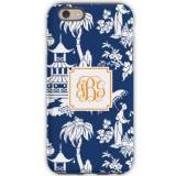 Personalized Phone Case Pagoda Navy
