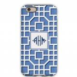 Personalized IPhone Case Fret Navy
