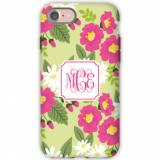 Personalized Phone Case Lillian Floral Bright