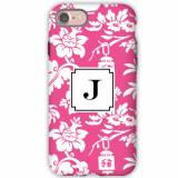 Personalized Phone Case Anna Floral Raspberry