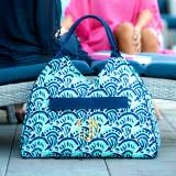 Monogrammed Make Waves Beach Bag