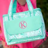 Monogrammed Poolside Palm Cooler Bag