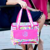 Monogrammed Summer Sorbet Cooler Bag