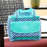 Monogrammed Tide Pool Cooler Bag