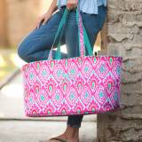 Monogrammed Beachy Keen Ultimate Tote