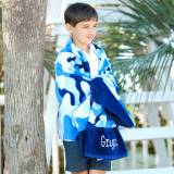 Personalized Cool Camo Beach Towel
