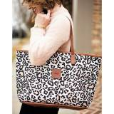 Monogrammed Savannah Zippered Tote Spring  . . .