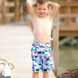 Personalized Boys Oh Buoy Nautical Swim  . . .