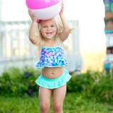 Personalized Girls Mer-Mazing Swim Set