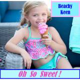 Personalized Girls Beachy Keen Swim Set