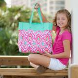 Monogammed Beachy Keen Everything Tote